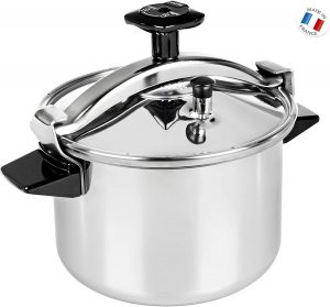 cocotte-minute Seb Autocuiseur Inox P0531100 Authentique 8L